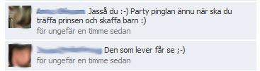 Facebookkonversation